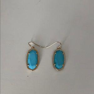 Kendra Scott turquoise Dani earrings